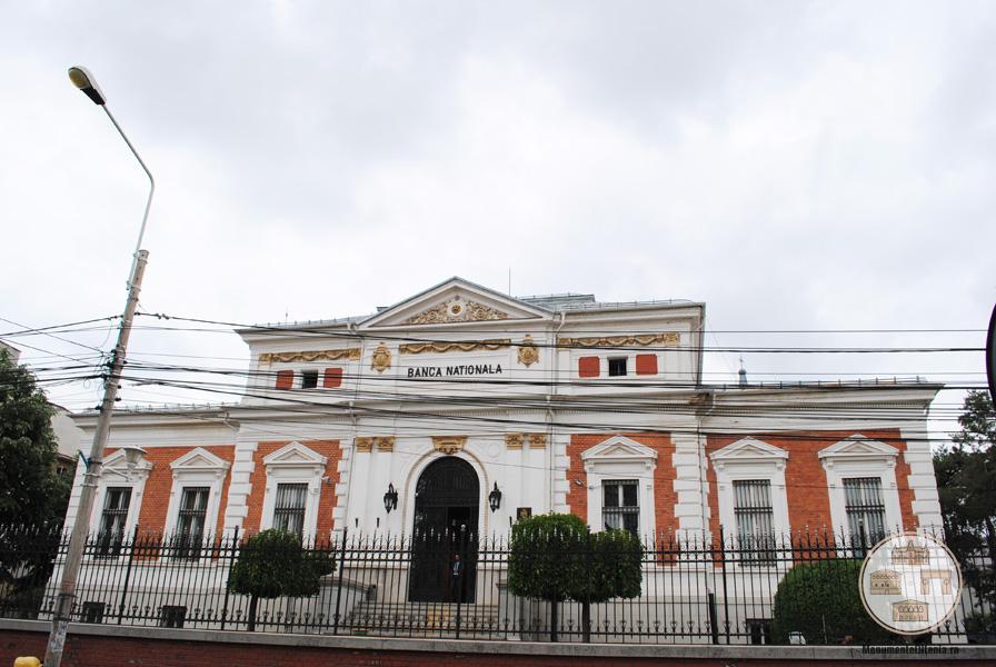 Banca Nationala a Romaniei - filiala Craiova - fatada dinspre Calea Unirii