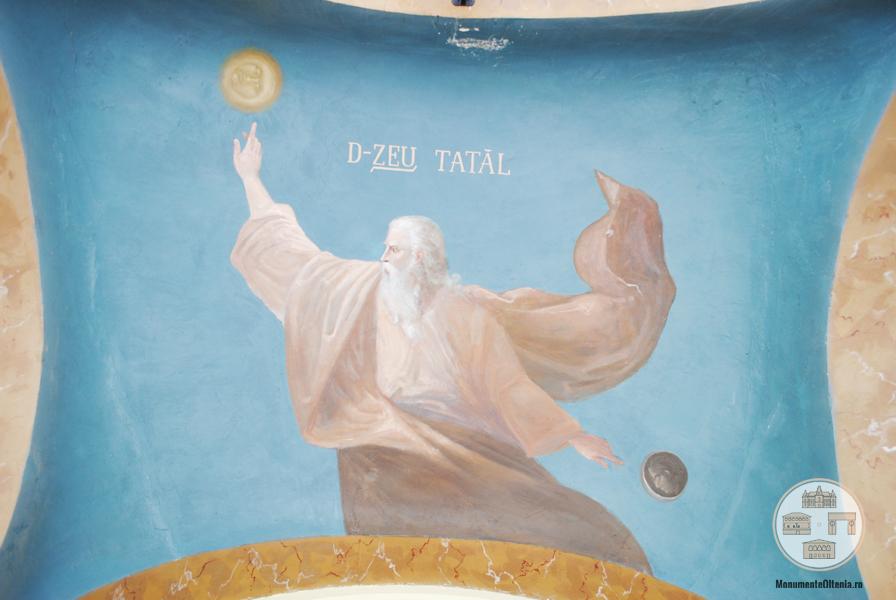 Biserica Mantuleasa Craiova - pictura