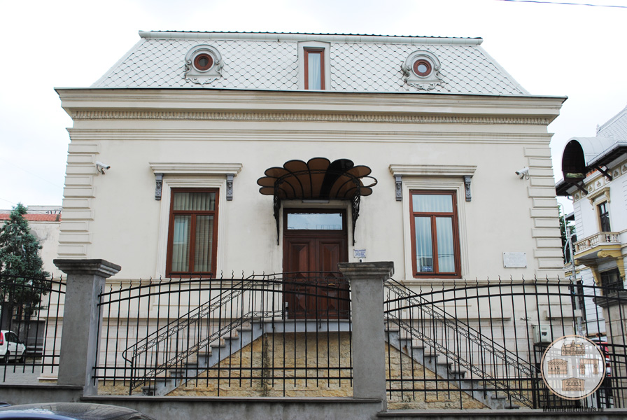 Casa Stoilov-Bolintineanu, Craiova - vedere de pe str Savinesti