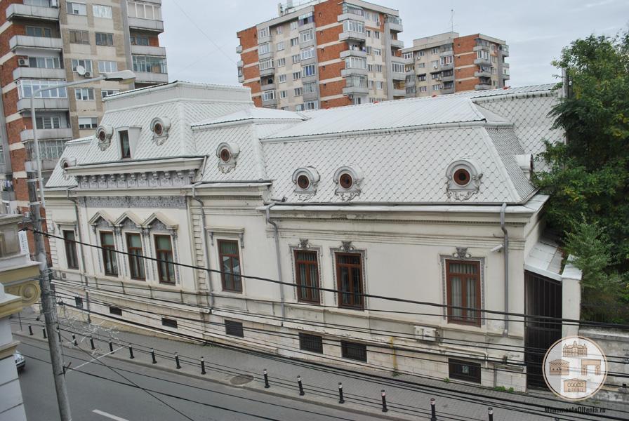 Casa Stoilov-Bolintineanu, Craiova - vedere din Casa Valimarescu