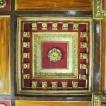 Casa Valimarescu, Craiova - plafon decorat