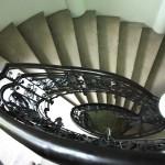 Casa Valimarescu, Craiova - scara interioara in spirala