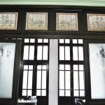 Casa Valimarescu, Craiova - usi cu geamuri gravate