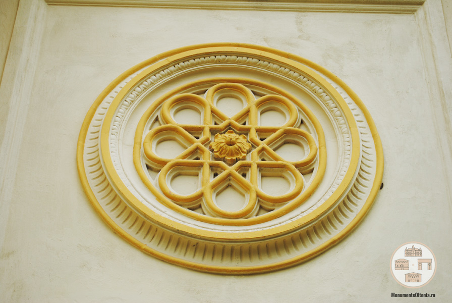 Biserica Evanghelica Luterana, Craiova - decoratiuni fatada
