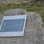 Situl arheologic Cioroiu Nou - placuta