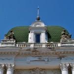 Palatul Marincu - detaliu acoperis