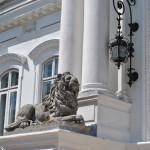 Palatul Marincu - detaliu ornamentatii