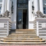 Palatul Marincu - scari principale
