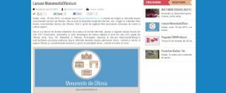 Articol despre lansarea MonumenteOltenia.ro