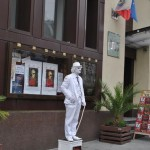 Statuie vivanta Calea Unirii Craiova