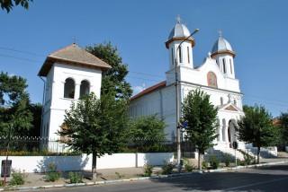 Biserica Adormirea Maicii Domnului Calafat - vedere laterala