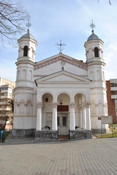 Biserica Toti Sfintii Hagi Enus - vedere frontala