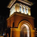 Turnul de intrare - vedere nocturna