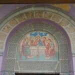 Privire inauntrul Bisericii Sfanta Treime din Craiova