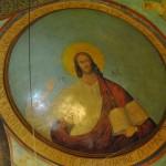 Biserica Sf. Nicolae - Brândușa, Craiova - Pantocratorul pe bolta naosului