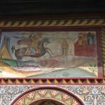 Biserica Sf. Nicolae - Brândușa, Craiova - pictură exterioară
