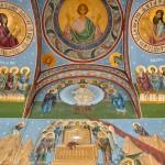 Biserica Sf. Nicolae - Brândușa, Craiova - pictură pridvor