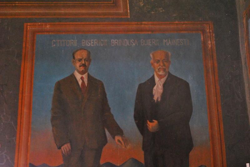 Ctitorii Bisericii Sf Nicolae Brandusa Craiova