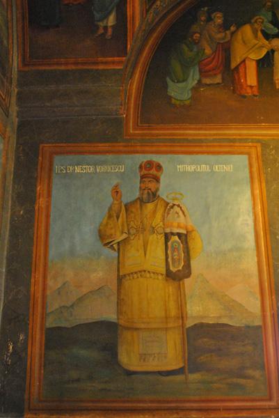 Nestor Vornicescu in Biserica Sf Nicolae Brandusa Craiova