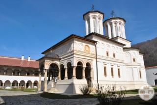 Biserica Sf Imparati Constantin si Elena a Manastirii Hurezi