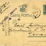 Carte postala 14 octombrie 1942 - fata