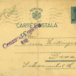 Carte postala 29 septembrie 1942 - fata