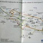 Harta traseelor mijloacelor de transport in comun Craiova