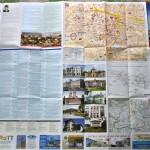 Harta turistica Craiova - verso