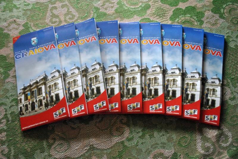 Harti turistice ale municipiului Craiova