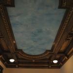 Palatul Jean Mihail - tavan pictat