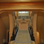 Palatul Jean Mihail - scara monumentala