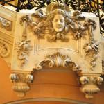 Palatul Jean Mihail - detaliu