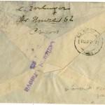 Plic 17 septembrie 1942 - verso