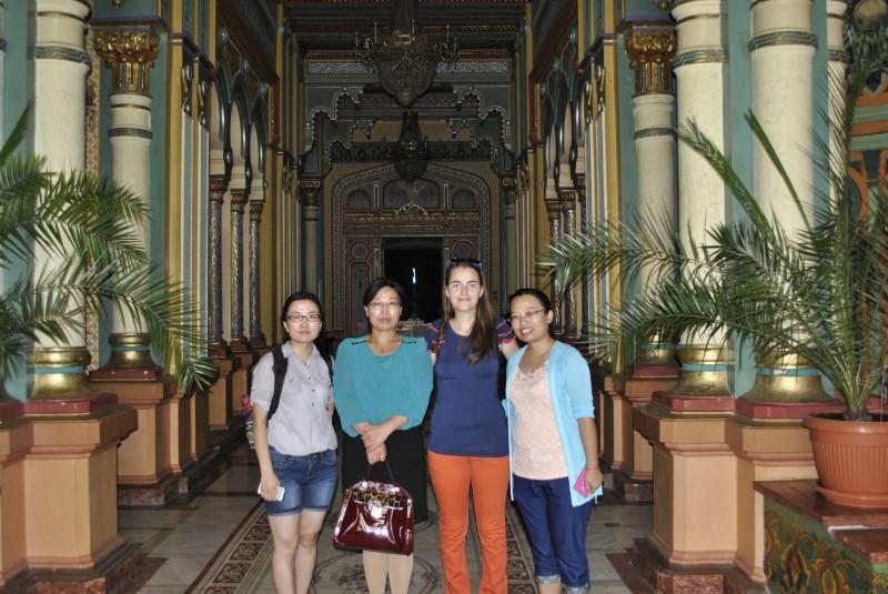 Turisti chinezi in Craiova