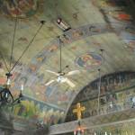 Biserica lui Horea din Băile Olănești - pictura interioară