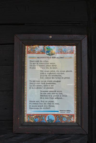 Bisericuța din Albac de Octavian Goga
