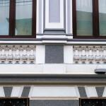 Casa Schina - detalii arhitectonice exterioare