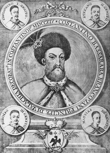 Constantin Brâncoveanu și fiii săi