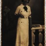 Portret in studio Genoveffa Adotti