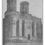Biserica Sf. Dumitru in 1889 - vedere frontala