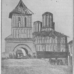 Biserica Sf. Dumitru inainte de daramare 1889