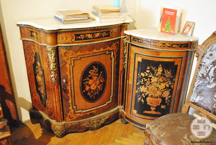 Casa Feraru, Craiova - mobilier