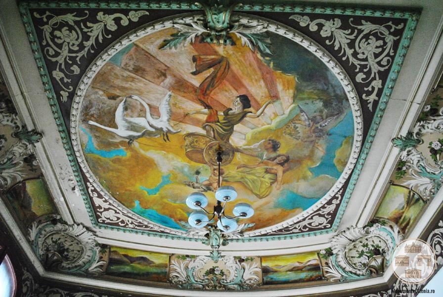 Casa Feraru, Craiova - tavan pictat