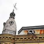 Casa Rusănescu, Craiova - detaliu acoperiș
