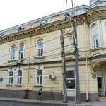 Casa Rusănescu, Craiova - fațada de pe Bd Știrbei Vodă