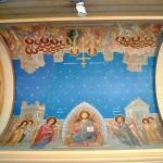 Catedrala Mitropolitana din Craiova - pictura tavan pridvor