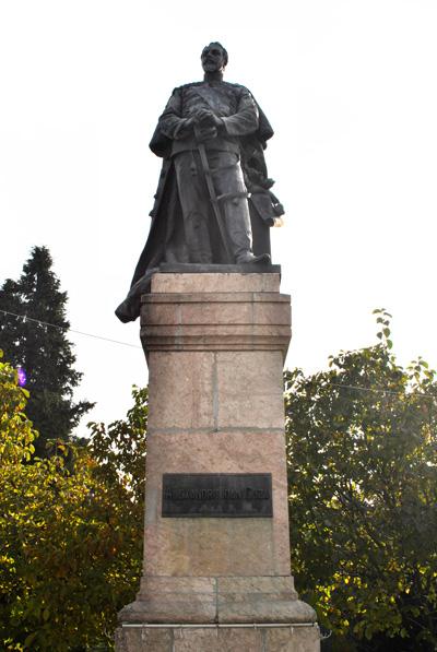Statuia Alexandru Ioan Cuza, Craiova