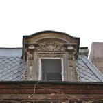 Casa Cănciulescu, Craiova - fereastră mansardă