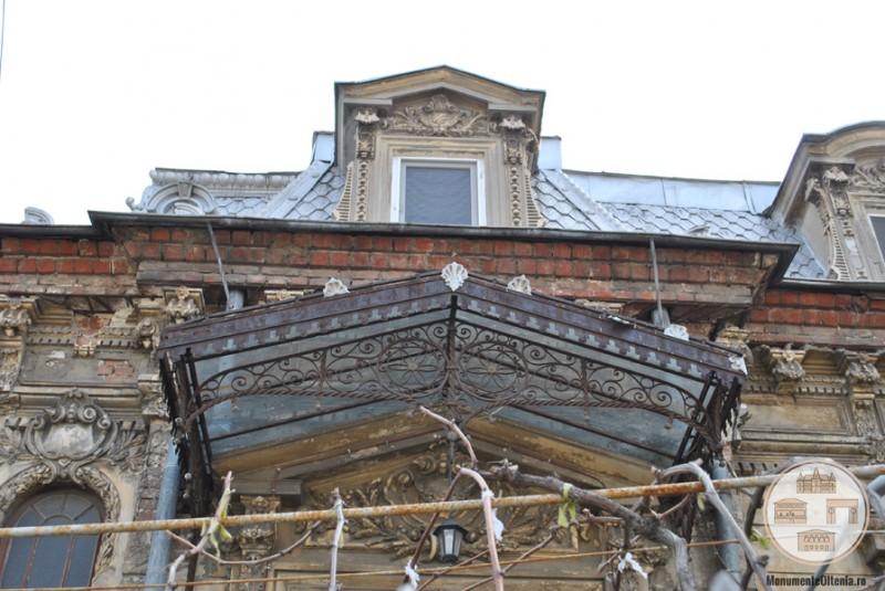 Casa Cănciulescu, Craiova - marchiză