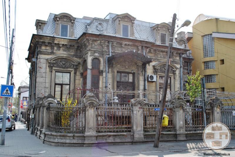 Casa Cănciulescu, Craiova - vedere de ansamblu